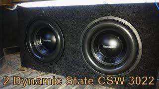 2 Dynamic State CSW 3022 + Kicx QS 1.1000