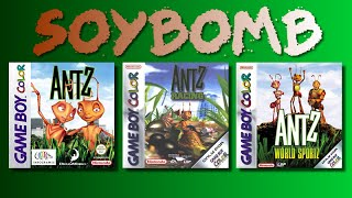 Antz... ANTZ EVERYWHERE!! (Game Boy Color) - SoyBomb Plays!