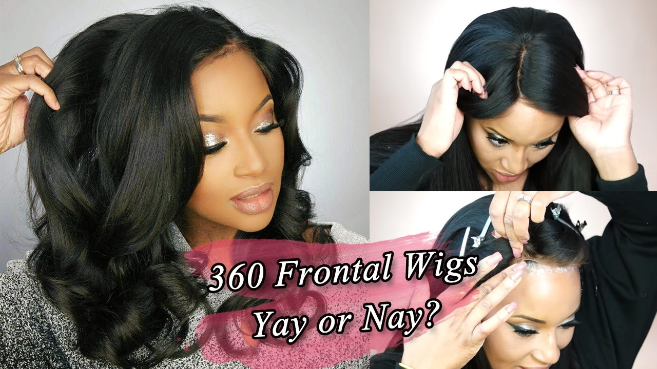 Check 360 Frontal Wigs!!! Easy Apply Wigs ft. WowAfrican.com - YouTube 48d1d32929