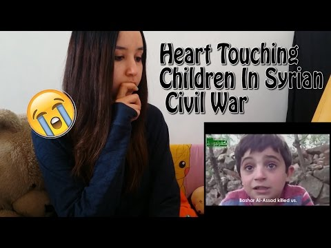 Heart Touching Children In Syrian Civil War- Share If You Care _ REACTION