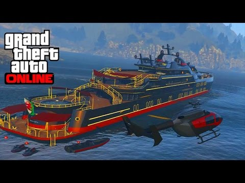 Gta 5 online, stealing peoples yacht part 2