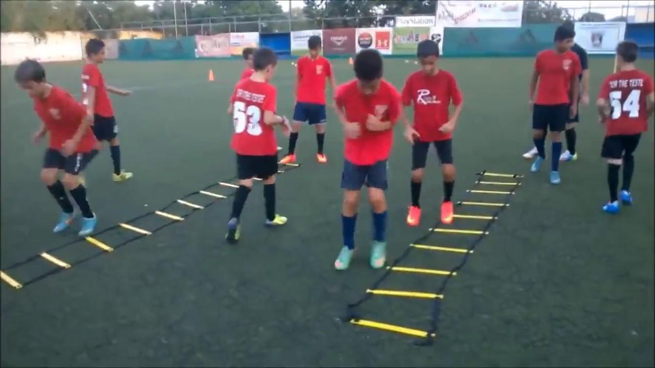 Training soccer Valantis Spanidis