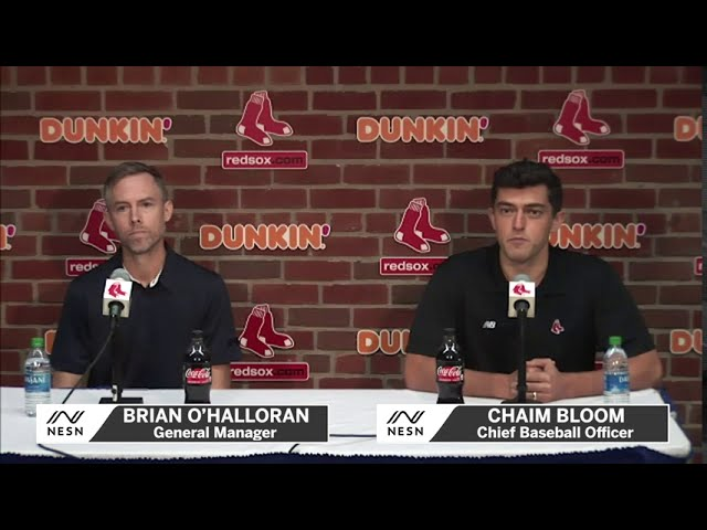 Red Sox, Chaim Bloom and Brian O'Halloran Address Mitch Moreland Trade