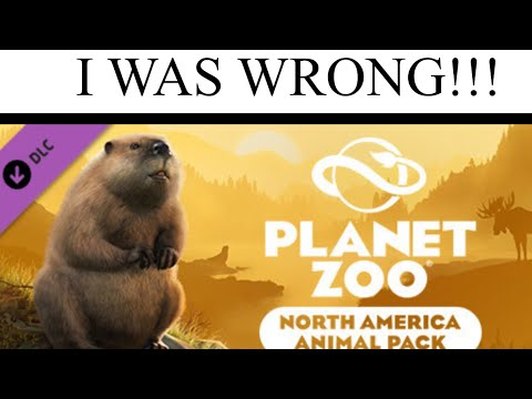 I WAS WRONG!!!! North American Animal Pack coming to PLANET ZOO!!! Trailer Reaction Video  