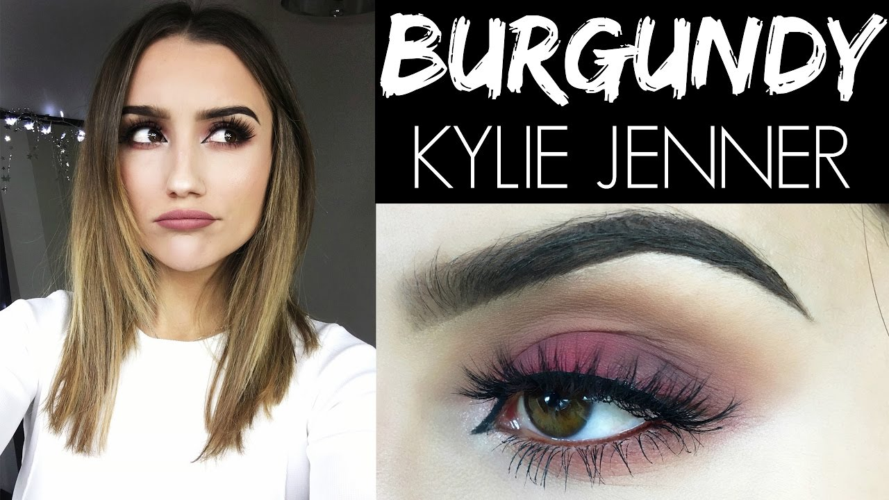 Kylie The Youtube Makeup Jenner Burgundy 0Pn8OwkX
