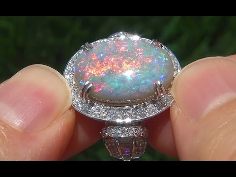Coober Pedy Opal Rings