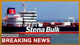 Iran seizes British oil tanker in Strait of Hormuz