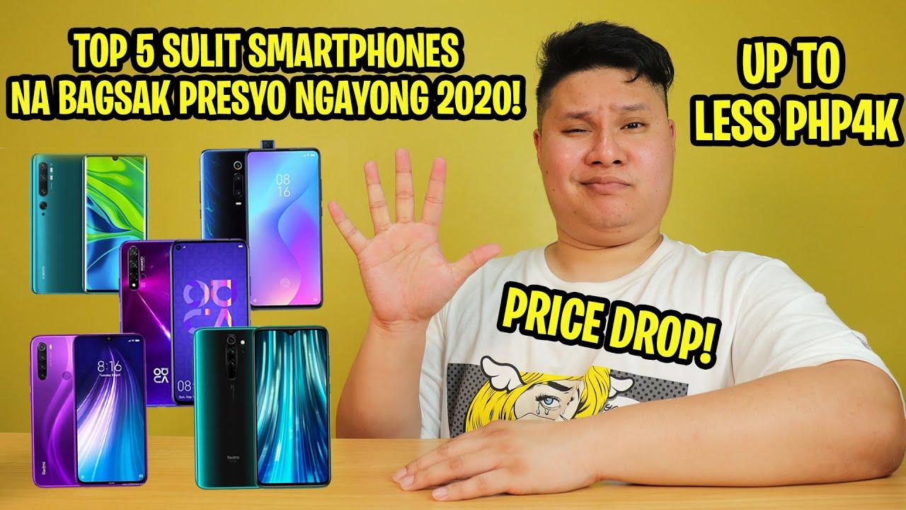 TOP 5 SULIT SMARTPHONES NA BAGSAK PRESYO NA NGAYONG 2020!