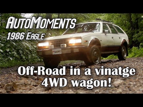1986 AMC Eagle - Off-Road in a Vintage 4WD Wagon | AutoMomen