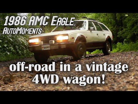 1986 AMC Eagle - Off-Road in a Vintage 4WD Wagon   AutoMoments