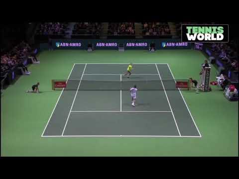 Roger Federer vs Philipp Kolschreiber 2018 Rotterdam R2 Highlights