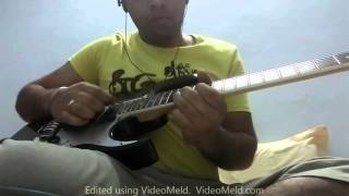 Metallica-nothing else matters-guitar solo cover