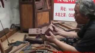 Xin Quansheng's Chines Troditonal Woodworking--luban Stool(2)