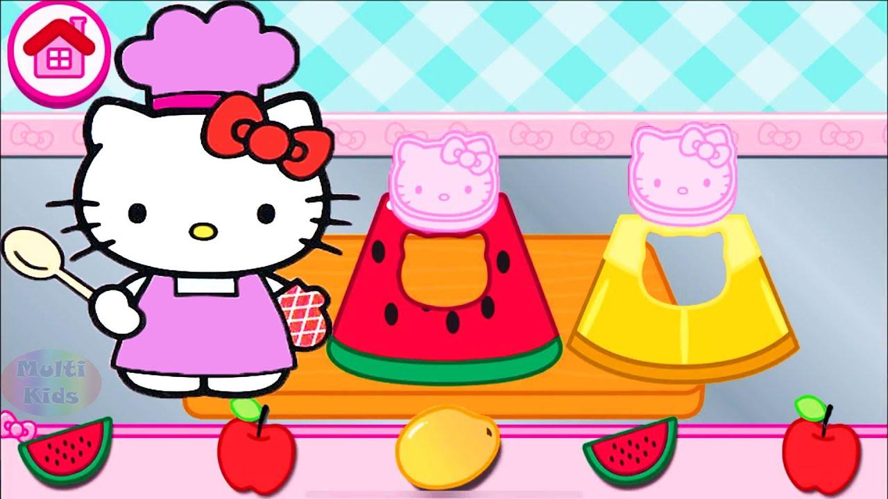Permainan Anak Perempuan Masak Masakan Hello Kitty Lunch Box Youtube