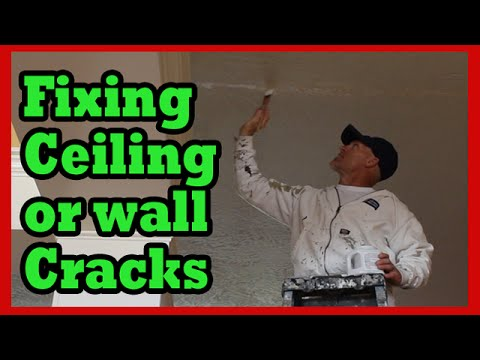 How To Fix Ceiling Cracks Drywall Repair Hacks
