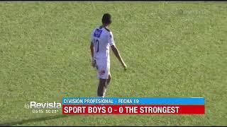 Torneo Clausura, Fecha 19: Sport Boys 0 – 0 The Strongest