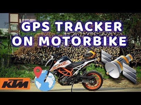 Installing GPS Tracker on Motorbikes
