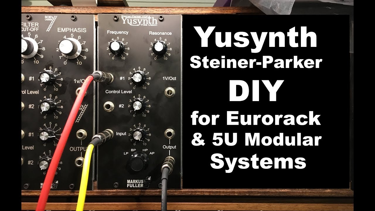 Yusynth steiner parker voltage controlled filter diy home build