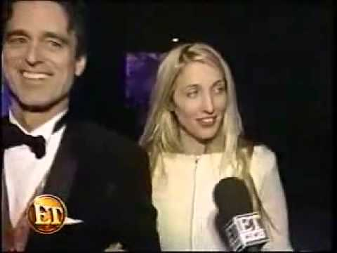 Carolyn Bessette-Kennedy attends the 1998 Fire and Ice Ball