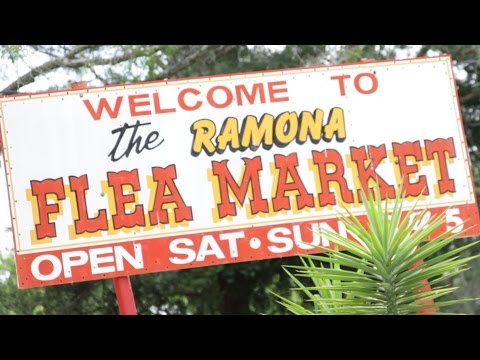 Ramona Flea Market for Unique Jacksonville Shopping