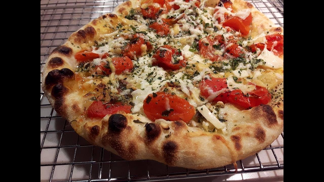Ricetta Pizza In Padella.Pizza Napoli Cottura Padella Grill Youtube