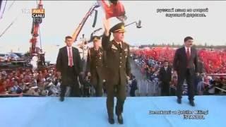 Genelkurmay Başkanı Org. Hulusi Akar'ın Konuşması - Demokrasi ve Şehitler Mitingi - TRT Avaz