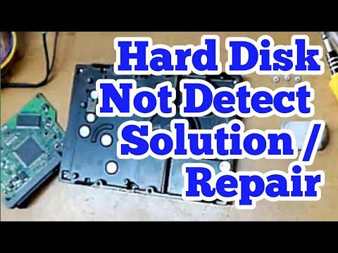 Hard disk not detect solution / Repair Marathi मराठी || by IctmGuru