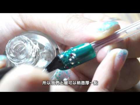 新竹夢芙【指甲油彩繪DIY】星座系列美甲-獅子座篇 - YouTube