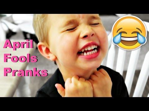 😂April Fools Pranks on KIDS!