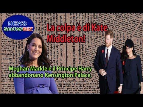 La colpa è di Kate Middleton! Meghan Markle e il Principe Harry abbandonano Kensington Palace.