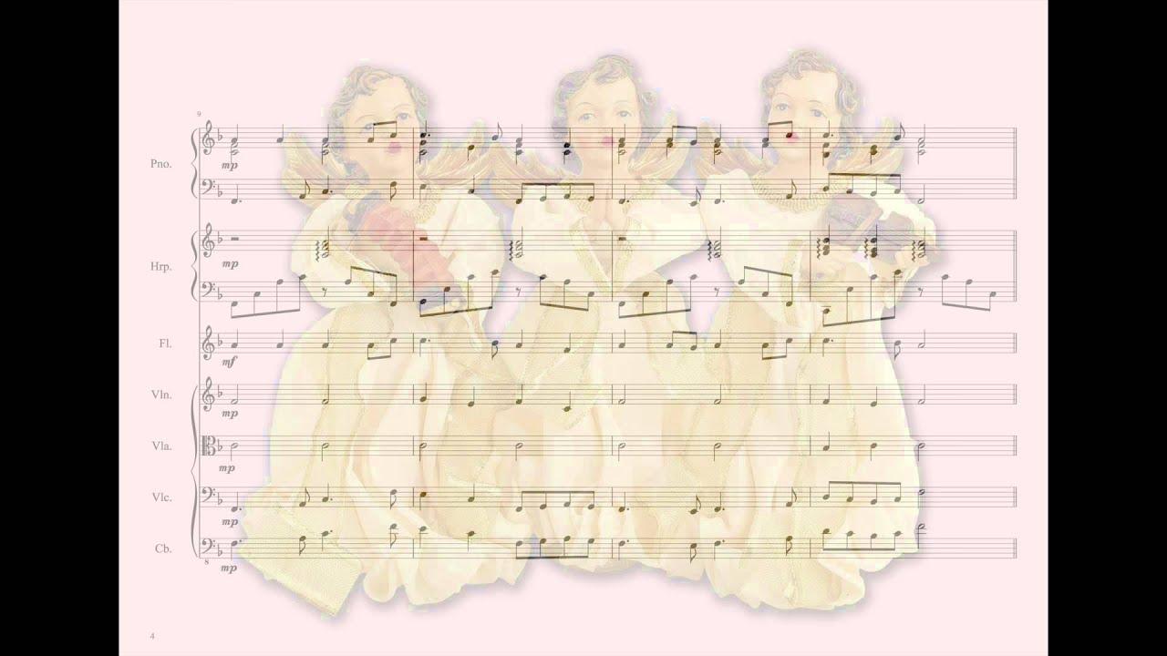 Gloria In Excelsis Deo ☆ Instrumental & Brass Ensemble ☆ Christmas ☆ Free Sheet ☆ Karaoke Along ...