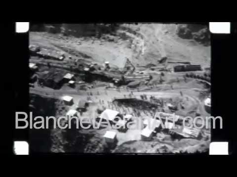 Africa In The 1920's: Giant Diamond Mine (Premier Mine) Near Pretoria, South Africa