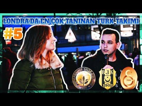 Londra'da En Çok Tanınan Türk Takımı Hangisi? #5