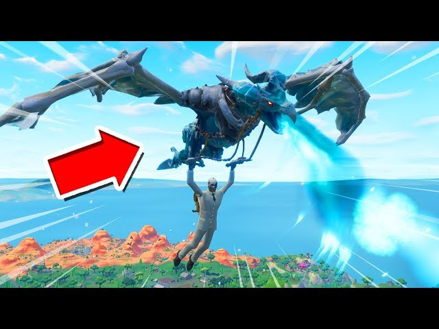 *NEW* Frostwing Glider Gameplay in Fortnite Battle Royale..
