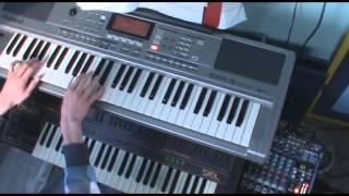 black spell of destruction burzum keyboard piano cover