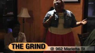 Aja Ray - The Grind Open MIC