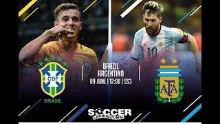 Brazil vs Argentina Copa America-Semi Final (2019) Full Match Highlights  HD