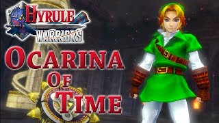 Hyrule Warriors Playing As Ocarina Of Time Link Youtube