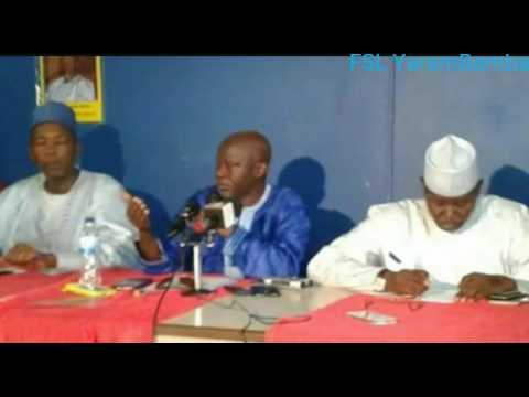 Gambia: UDP, NRP & GMC Joint Press Conference