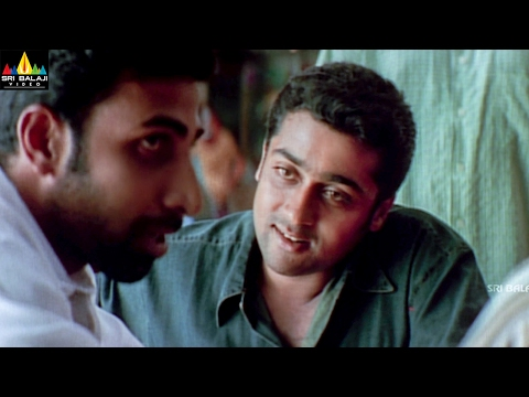 Yuva Movie Suriya Fight Scene in Canteen | Suriya, Madhavan, Siddharth | Sri Balaji Video
