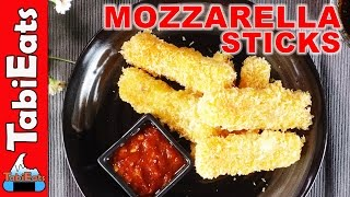EASY Homemade Mozzarella Sticks (RECIPE)