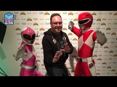 Power Rangers Art Show Gallery Nucleus 2016
