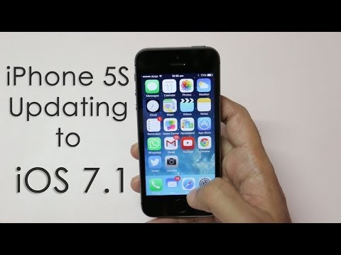 Updating IPhone 5S To IOS 7.1