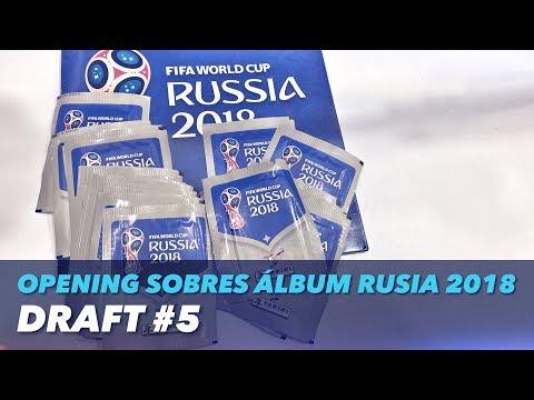 DRAFT #5   OPENING SOBRES ÁLBUM RUSIA 2018
