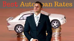 Auto Loan Refinancing -  Auto Loans With No Job