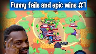 Brawl stars funny moments and epic wins! #1