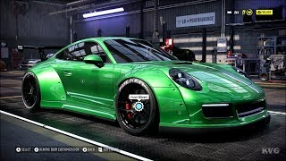 Need for Speed Heat - Porsche 911 Carrera GTS 2018 - Customize | Tuning Car (PC HD) [1080p60FPS]