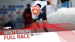 Winterberg | BMW IBSF World Cup 2017/2018 - Women's Skeleton Heat 1 | IBSF Official