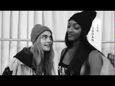 Cara Delevingne Victoria's Secret Interview (funny)