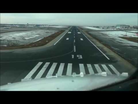 Посадка самолета в аэропорту Внуково Глазами Пилота
